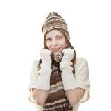 Portret van een jonge aantrekkelijke vrouw Stock Afbeelding