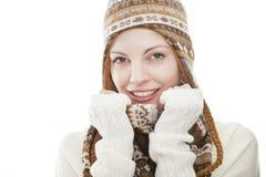 Portret van een jonge aantrekkelijke vrouw Royalty-vrije Stock Afbeelding