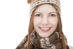 Portret van een jonge aantrekkelijke vrouw Stock Fotografie