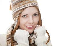 Portret van een jonge aantrekkelijke vrouw Stock Afbeeldingen