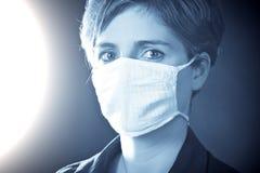 Portret van een jonge arts stock afbeelding