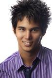 Portret van een jonge Aziatische Amerikaanse mens royalty-vrije stock fotografie