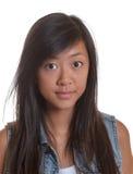 Portret van een jonge Aziatische vrouw royalty-vrije stock fotografie