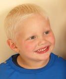 Portret van een jonge jongen Stock Foto's