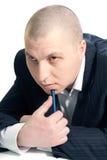 Portret van een jonge mens Stock Foto
