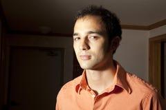 Portret van een jonge mens Royalty-vrije Stock Afbeeldingen