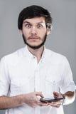 Portret van een jonge mens Royalty-vrije Stock Foto's