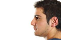 Portret van een jonge mens met een houding Royalty-vrije Stock Foto's