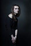 Portret van een jonge vrouw Royalty-vrije Stock Foto's