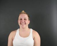 Portret van een Jonge Vrouw Stock Fotografie