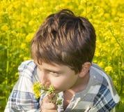 Portret van een jongen Stock Foto's