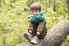 Portret van een jongen Royalty-vrije Stock Afbeelding