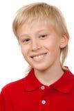 Portret van een jongen van 10 jaar Royalty-vrije Stock Afbeelding