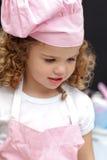 Portret van een kleine chef-kok Stock Afbeeldingen