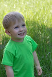 Portret van een kleine jongen stock foto's