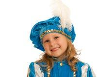 Portret van een kleine prins royalty-vrije stock afbeeldingen