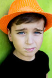 Portret van een knappe jongen Royalty-vrije Stock Afbeeldingen