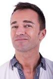 Portret van een knappe midden-leeftijdsmens Stock Fotografie
