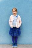 Portret van een leuk meisje royalty-vrije stock afbeeldingen