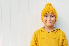 Portret van een leuke kleine jongen Royalty-vrije Stock Foto's
