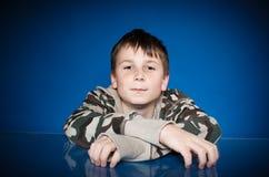 Portret van een leuke tiener Stock Afbeeldingen