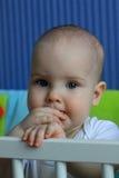 Portret van een 11 maandenbaby Royalty-vrije Stock Foto's