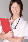 Portret van een medische beroeps Stock Foto