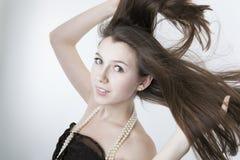 Portret van een meisje 2 royalty-vrije stock afbeeldingen