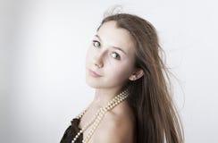 Portret van een meisje 2 royalty-vrije stock afbeelding