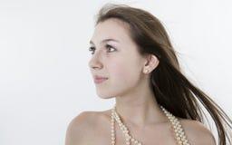 Portret van een meisje 2 Stock Foto's