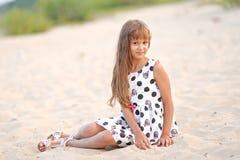 Portret van een meisje stock afbeelding