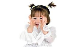 Portret van een meisje Stock Afbeeldingen