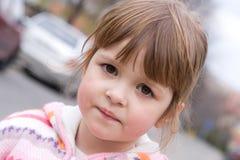 Portret van een meisje stock fotografie