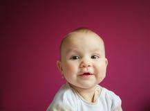 Portret van een meisje van de 9 maandbaby Royalty-vrije Stock Fotografie
