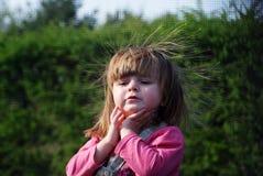 Portret van een meisje van twee jaar Royalty-vrije Stock Fotografie