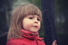 Portret van een meisje van twee jaar Stock Fotografie