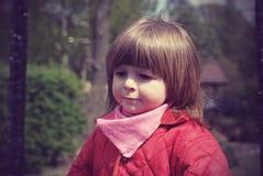 Portret van een meisje van twee jaar Royalty-vrije Stock Afbeelding