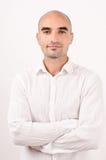 Portret van een mens. Stock Foto's
