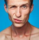 Portret van een Mens Royalty-vrije Stock Afbeeldingen