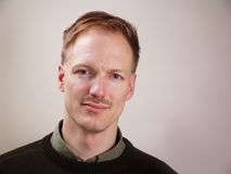 Portret van een Mens stock fotografie