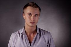 Portret van een mens. homosexueel Stock Afbeeldingen