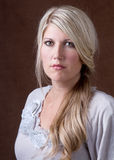Portret van een midden op de leeftijd van vrouw 30-40 Stock Foto's