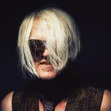 Portret van een Midden Oude Clubber stock fotografie