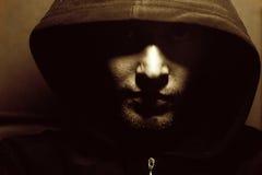 Portret van een monnik Stock Foto