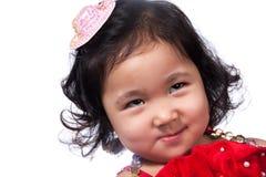 Het Aziatische meisje van het portret Stock Afbeeldingen