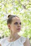Portret van een mooi jong meisje Royalty-vrije Stock Afbeeldingen