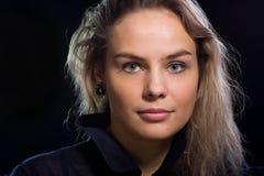 Portret van een mooi meisje royalty-vrije stock foto's