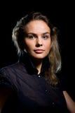 Portret van een mooi meisje stock afbeeldingen