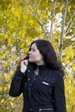 Portret van een mooi meisje Royalty-vrije Stock Afbeeldingen