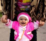 Portret van een mooi meisje (kind) royalty-vrije stock fotografie